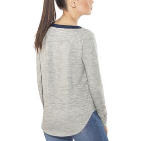 super.natural City - Camiseta de manga larga Mujer - gris